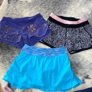Ivivva By Lululemon Shorts & Skirt Bundle 10